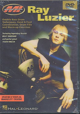 Luzier Ray: Ray Luzier Double Bass Techniques Drums Dvd
