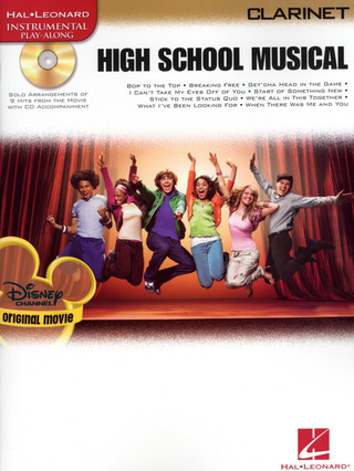 High School Musical Selections (Clarinet) Clt Book/Cd