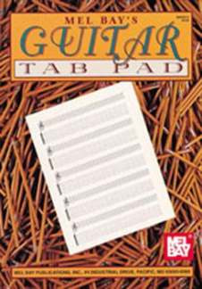 Notenblock Guitar Tab Pad