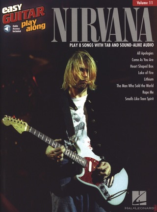 Nirvana: Easy Guitar Play-Along Volume 11: Nirvana (Book/Online Audio)