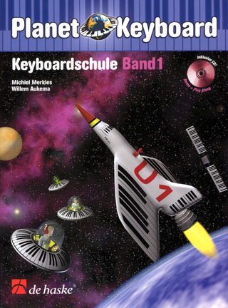 Merkies Michiel Aukema Willem: Planet Keyboard 1 - Keyboardschule 1