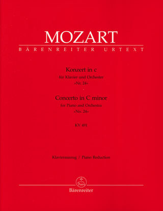 Wolfgang Amadeus Mozart: Concerto for Piano and Orchestra no. 24 in C minor K. 491