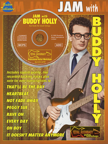 Holly Buddy: Jam With Buddy Holly Tab Book/Cd