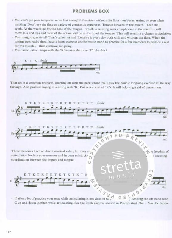 Practice Books For The Flute Bks 1-6 from Trevor Wye   buy