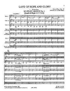Edward Elgar: Playstrings Easy No. 9 Land Of Hope And Glory Strng Orc