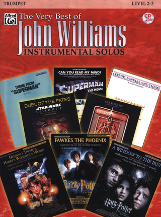 John Williams: Very Best Of Instrumental Solos Trumpet Bk/Cd