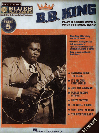 B.B. King: Blues Play-Along Vol. 5: B.B. King