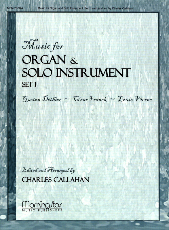 Music for Organ and Solo Instrument 1