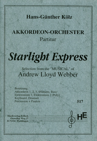 Andrew Lloyd Webber: Starlight Express - Selection