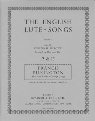 Francis Pilkington: The first Booke of Songs