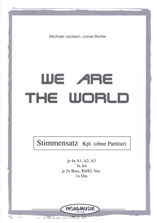 Michael Jackson et al.: We are the world