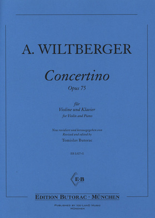 August Wiltberger: Concertino op. 75