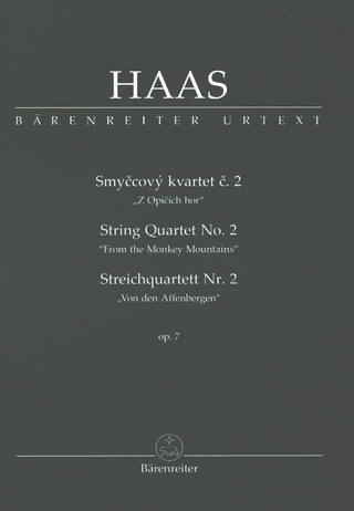 Pavel Haas: String Quartet No. 2 op. 7