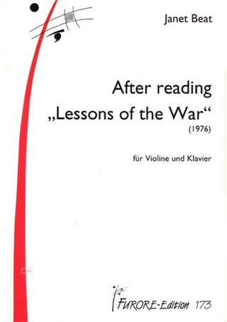 "Beat Janet: After Reading ""Lessons of the war"" (1977)"