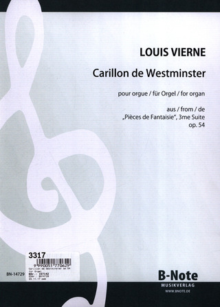 Louis Vierne: Carillon De Westminster Op 54/4 Aus Pieces De Fantaisie Suite 3