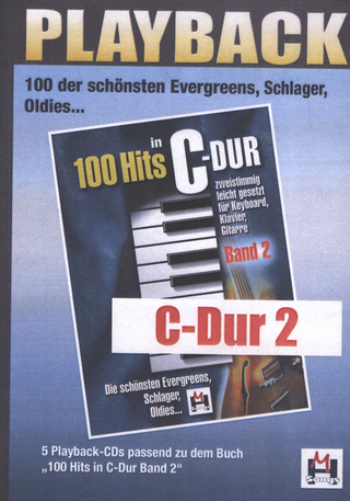100 Hits in C-Dur 2 – Playback