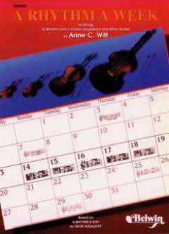 Witt Anne C.: Rhythm A Week