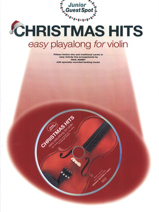 Junior Guest Spot Christmas Hits For Violin Bk/Cd