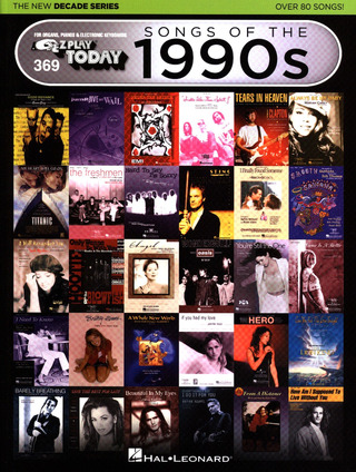 E-Z Play Today 36: Songs of the 1990's