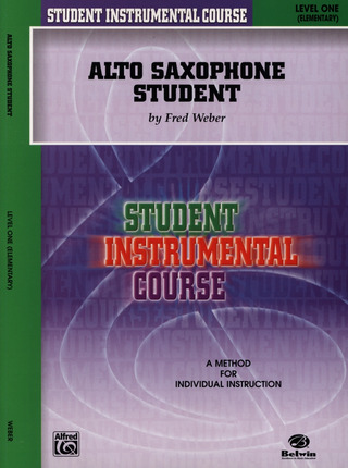 Fred Weber: Alto Saxophone Student 1