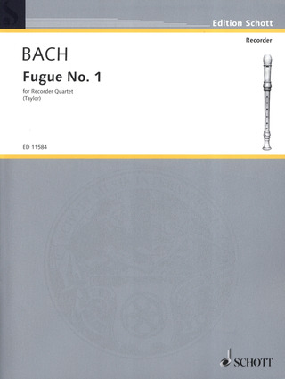 Johann Sebastian Bach: Fugue No. 1 in C C-Dur BWV 846