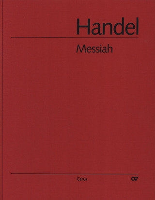 Georg Friedrich Händel: Messiah (Messias) HWV 56