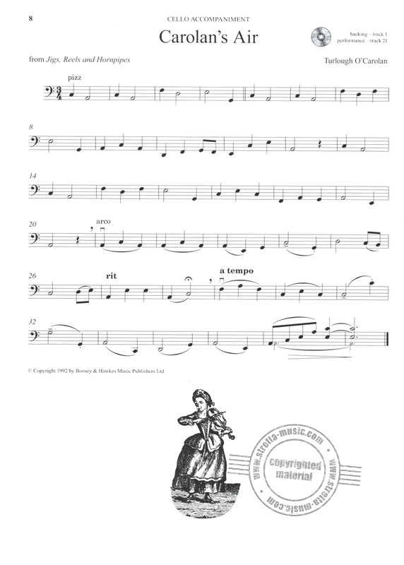 Edward Huws Jones: The Fiddler Playalong Cello Collection (9)