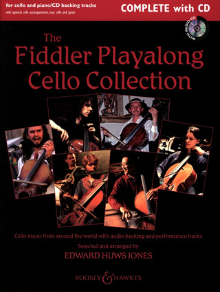 Edward Huws Jones: The Fiddler Playalong Cello Collection