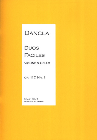 Charles Dancla: Duo Facile Op 117/1