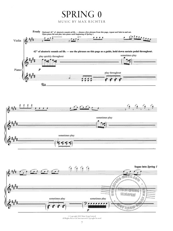 The Four Seasons From Antonio Vivaldi Buy Now In Stretta Sheet Music Shop