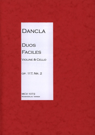 Charles Dancla: Duo Facile Op 117/2