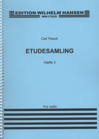 Carl Flesch: Studies and Exercises for Violin 2
