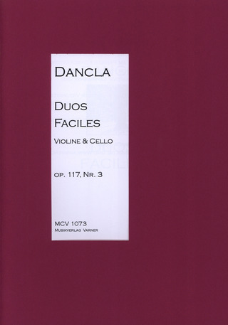 Charles Dancla: Duo Facile Op 117/3