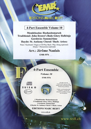 4-Part Ensemble Volume 10