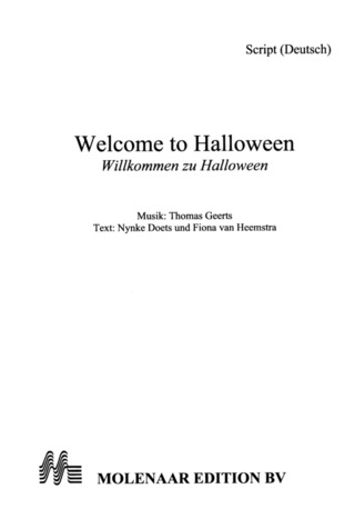 Thomas Geerts: Welcome to Halloween