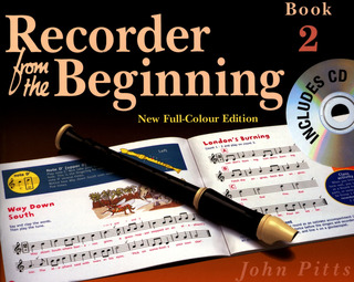 John Pitts: Recorder From The Beginning Pupils Book 2 Revised Edition Bk/Cd