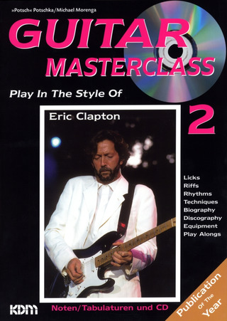 Play in the style of Eric Clapton