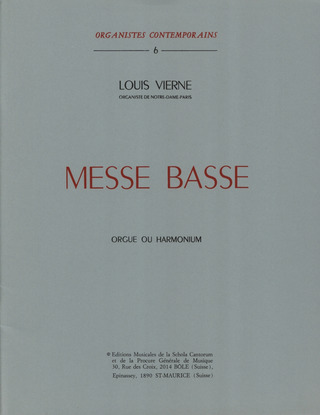 Louis Vierne: Messe Basse