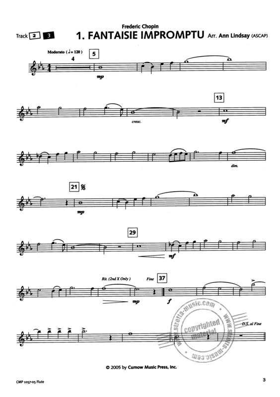 Easy Classics for the Young Flute Player (3)