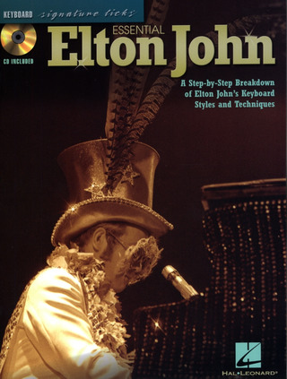 Elton John: Essential Elton John: Keyboard Signature Licks Pf Book/Cd