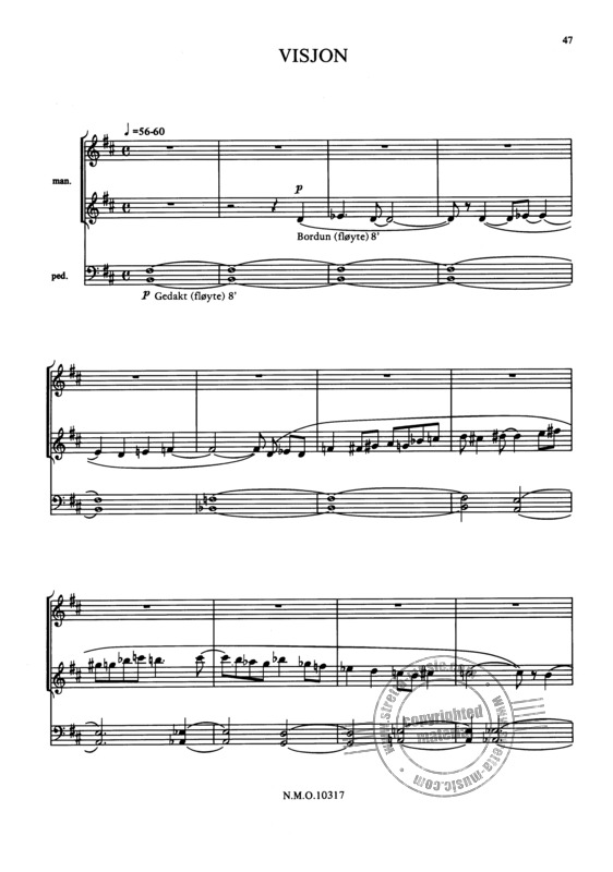Karlsen, Kjell Mörk: 6 Pieces for Organ op. 81 (3)