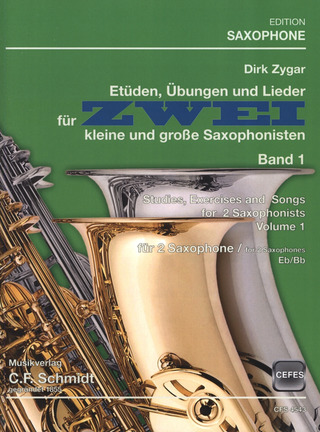 Dirk Zygar: Studies, Excercises and Songs Vol. 1