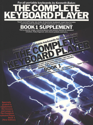 Kenneth Baker: Complete Keyboard Player Book 1 Supplement