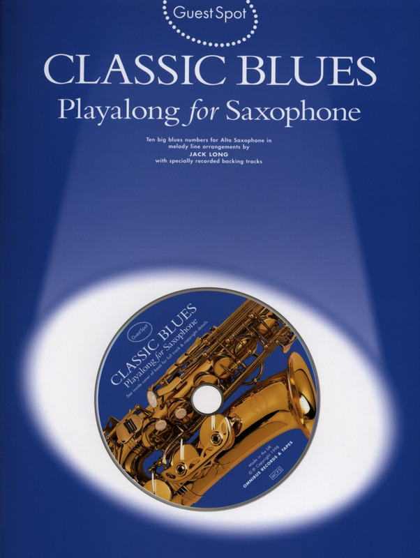 Guest Spot Classic Playalong Blues For Alto Saxophone Bk/Cd