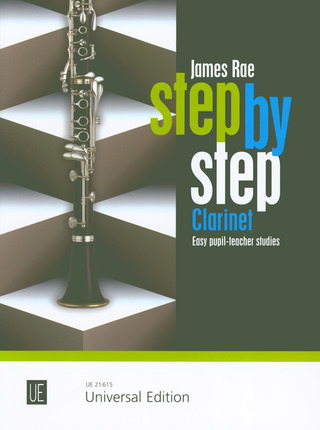 James Rae: Step by Step für Klarinette (2013)
