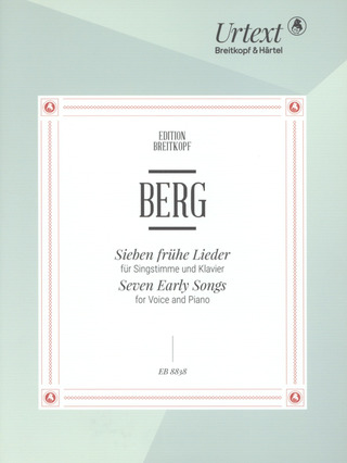 Alban Berg: Seven Early Songs