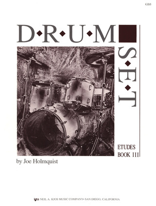Joe Holmquist: Drum Set Etudes 3