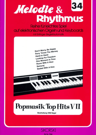 Willi Nagel: Melodie & Rhythmus, Heft 34: Popmusik Top Hits 7