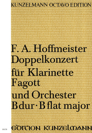 Franz Anton Hoffmeister: Double Concerto B-flat major