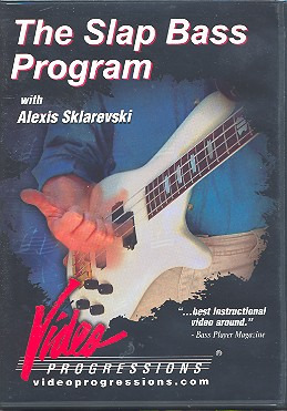 Sklarevski Alexis: Alexis Sklarevski: The Slap Bass Program Bgtr Dvd (0)